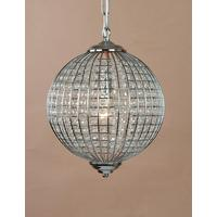 Chrome Globe Chandelier (3 Different Sizes)