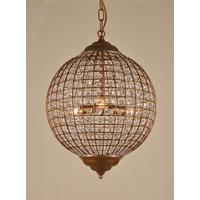 Gold Globe Chandelier (3 Different Sizes)