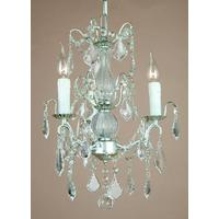 Small Silver French Chandelier