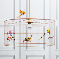 Medium Bird Cage Chandelier