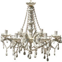 Mimi 06-arm White Chandelier