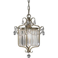 Gia Gilded Silver Crystal Chandelier