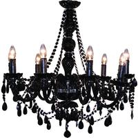 Large Crystal 9 Arm Chandelier