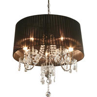 Beaumont 5 Light Chandelier in 3 Colourways