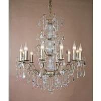 Caprice Gold Chandelier - 12 Arm