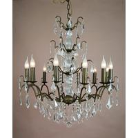 Caprice Bronze Chandelier - 12 Arm