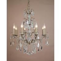 Caprice Gold Chandelier - 8 Arm