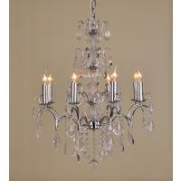 Caprice Chrome Chandelier - 8 Arm