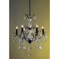 Caprice Bronze Chandelier - 6 Arm