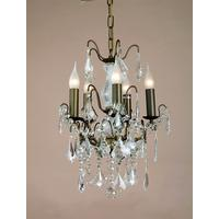 Caprice Bronze 5 Arm Chandelier