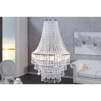 Imperial large crystal chandelier