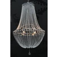 Glory XXL - crystal chrome chandelier