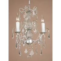 Caprice White Chandelier - 3 Arms