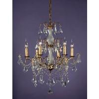 Caprice Gold Chandelier - 6 Arms