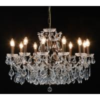 Adele Darker Bronze 12 Arm Chandelier