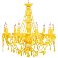 Pop Yellow Chandelier