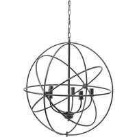 Tavistock Wrought Iron Globe Chandelier