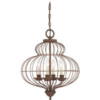Venezia Antique Bronze Birdcage Chandelier