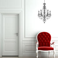 Chandelier Wall Sticker - Spin Wall Stickers from Spin Collective