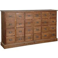 Industrial Pine Multi Drawer Chest