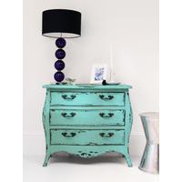 Vintage Style Turquoise Chest
