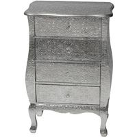 Metal Embossed Chest Of Drawers