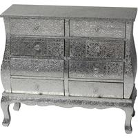 Embossed Metal Chest