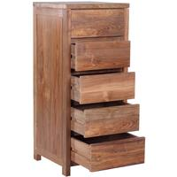 The 'Meno' Reclaimed Teak Tall Drawers