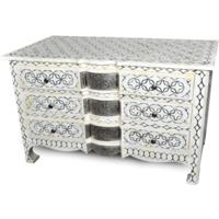 Star Bone Inlay Chest of Drawers