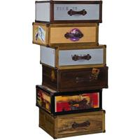 Quest 6 Drawer Trunk Style Tallboy