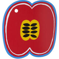 Marimekko - Kompotti Red/Blue/Yellow Chopping Board