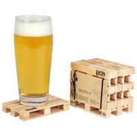 Set of 5 Wooden Pallet Coasters