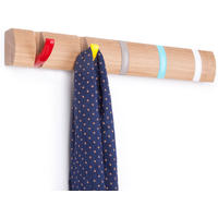 Umbra Flip Hook Wood in Assorted Colours