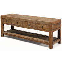 Four Drawer Low Table