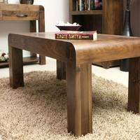 Chunky Solid Walnut Coffee Table