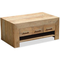 Stone 3 Drawer Coffee Table from Verty furniture