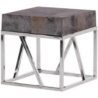 Slate Grey Square Table