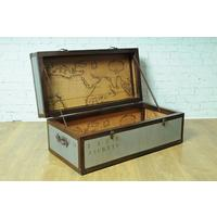 Quest Trunk Chest Coffee Table With Map