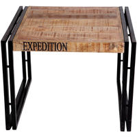 Upcycled Industrial Mintis Coffee Table wood and Metal