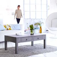 Miro Grey mindi wood Coffee Table 100x60