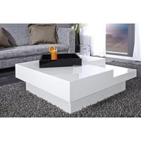 Qbase - white high gloss coffee table