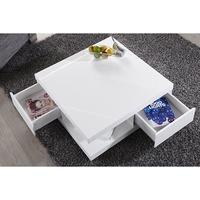 Edge - white high gloss coffee table
