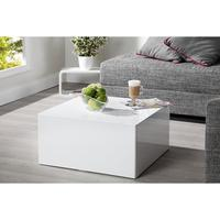 Silex L - 60 cm white high gloss coffee table