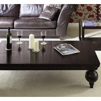 Bali Large Black Lacquer Oriental Coffee Table