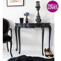 Sassy Boo Black Console Table