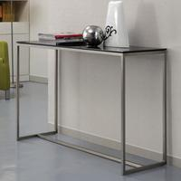 Modern Glass Top Console Table