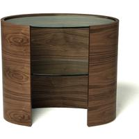 Eclipse Console Table with Inset Shelves from Tom Schneider