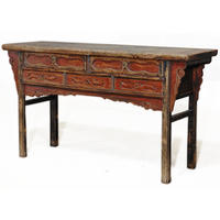 Five Drawer Console