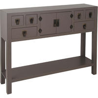 Rama  Sita Slate Grey Console Table