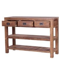 The 'Tanjung' Reclaimed Teak Wood Console Table by Ombak
